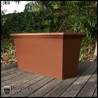 Tuscana Tapered Rectangular Planters