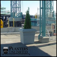 Valencia Tapered Square Planters