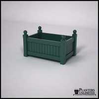 Versailles Premier Composite Commercial Planter 36in.L x 24in.W x 18in.H