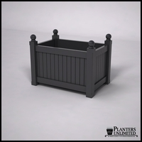 Versailles Premier Composite Commercial Planter 36in.L x 24in.W x 24in.H