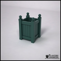 Versailles Premier Composite Commercial Planter 18in.L x 18in.W x 24in.H