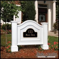Architectural Address Signs