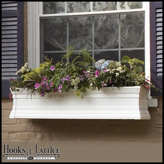 Vinyl Window Boxes