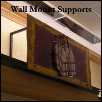 Wall Mount Sign Supports