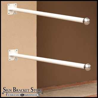 Wall Mounted Banner Brackets
