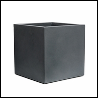 Weathered Stone Square Planters