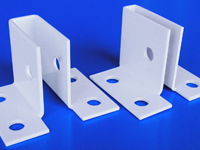 "White- CORNER ""U"" Wall Mount Brackets"