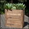 Wood Planters