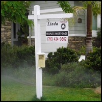 Wood Real Estate Sign Posts
