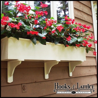 Wood Window Boxes