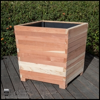 Wooden Planter With Legs