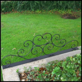 Wrought Iron Sign Headers