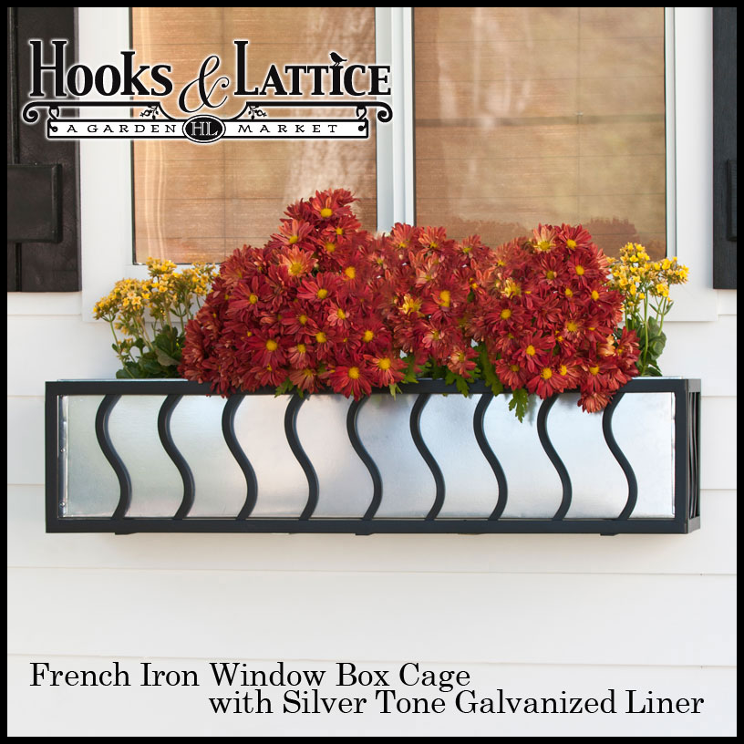 Wrought Iron Window Boxes Iron Flower Boxes Metal Window