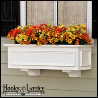 "XL Panel Premier Window Boxes w/ ""Easy Up"" Cleat Mounting System"