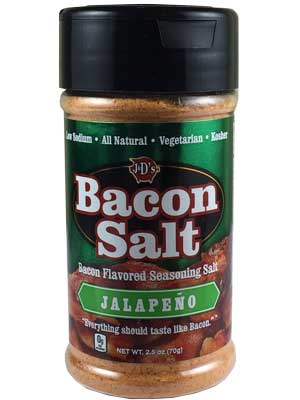 J&D's Jalapeno Bacon Salt, 2.5oz.