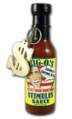 Big O's Stimulus Hot Sauce, 5oz.