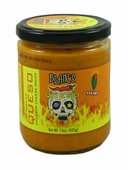 Blair's Fire Roasted Cheddar Cheese Queso Sauce XXX Hot, 12oz.