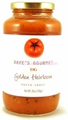 Dave's Golden Heirloom Pasta Sauce, 26oz.