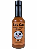 Fat Cat Papaya Penguin Passion Hot Sauce, 5oz.