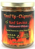 Fired Up - Chipnuts Red Savina Flavored