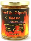 Fired Up - Chipnuts Tabasco Flavored