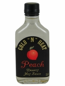 "Gold ""N"" Heat Peach Dessert Hot Sauce"