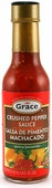 Grace Crushed Pepper Sauce, 4.8oz.