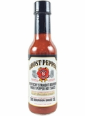 Kentucky Straight Bourbon Ghost Pepper Hot Sauce, 5oz.