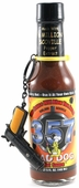 Mad Dog 357 Collector's Edition Hot Sauce with Gun Keychain, 5oz.