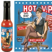 Sarah Palin Hot Sauce, 5oz.