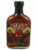 Satan's Rage Hot Sauce with Ghost Peppers, 5.7oz.