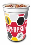 Cinema Theme 12oz Thermoform Drink Cup with Lids