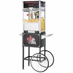 Topstar Commercial Quality Popcorn Popper Machine with Cart