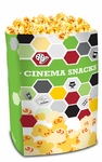 Jumbo Popcorn Bags Double Lined Cinema Theme