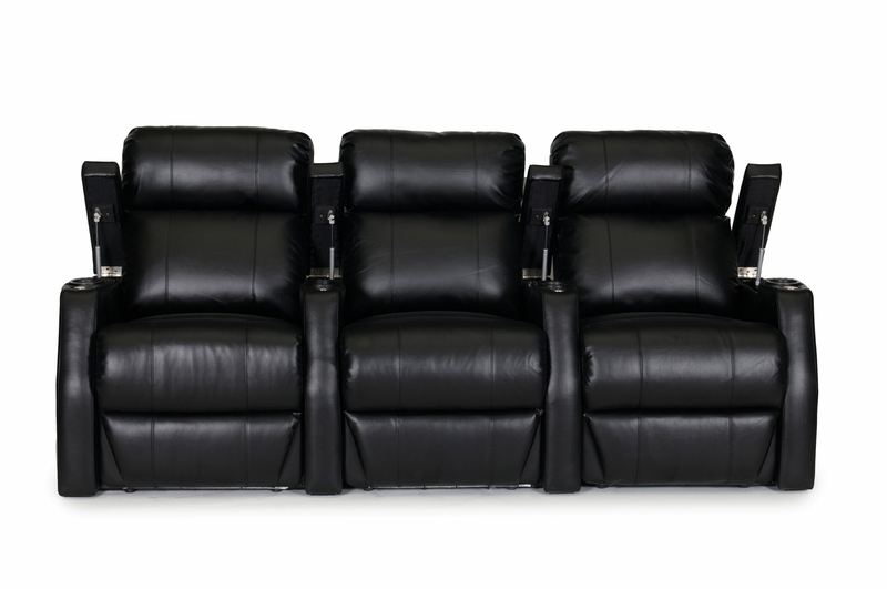 Ht Design Paget Home Theater Seating Power Recline Black
