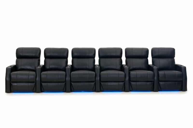 Htdesign Warwick Home Theater Seating Top Grain Leather