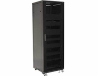 Sanus 36U rack with Shelves and Blanks