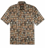 "Tori Richard ""Picnic"" Cotton Lawn Short Sleeve Shirt"