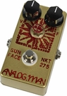 Analog Man SunFace Pedal w/ High Gain NKT-275 Sundial On/Off Fuzz Pot