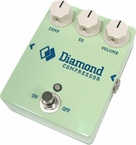Diamond Compressor Pedal - Custom Surf Green