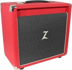 Dr. Z 1x10 Speaker Cab in Red / Salt and Pepper