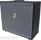 Dr. Z 1x12 Cabinet in Black w/ Salt and Pepper Grill
