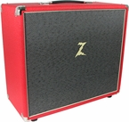 Dr. Z 1x12 Cabinet - Red w/ Salt and Pepper Grill