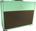 Dr. Z 2x12 Open Back Cab in Surf Green