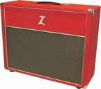 Dr. Z 2x12 Open Back Cab - Red - Scratch & Dent
