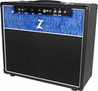 Dr. Z M12 Custom 1x12 Black w/ Blue Flamed Maple