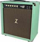 Dr. Z Maz 18 Jr NR 1x12 Studio Combo in Surf Green