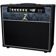 Dr. Z Maz 18 Jr NR Combo in Black w/ Custom Blue Flamed Maple
