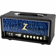 Dr. Z Maz 18 Jr NR Head Custom Hardwood Blue Quilt
