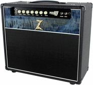 Dr. Z Maz 18 Jr Reverb 1x12 - Custom Blue Flamed Maple